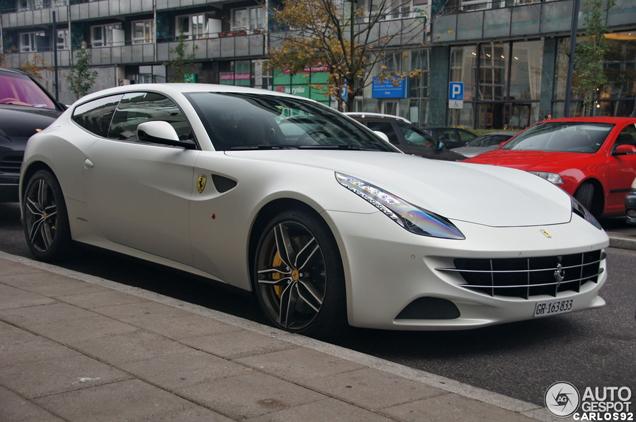 Matte White Looks Perfect On The Ferrari Ff