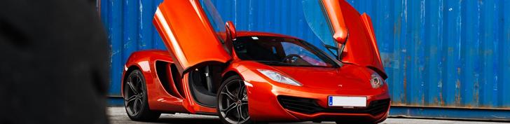 Servizio fotografico: McLaren MP4-12C
