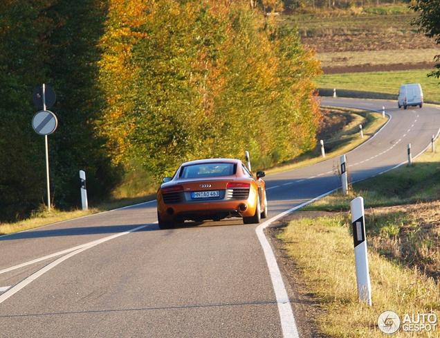 Gespot: Audi R8 V10 2013