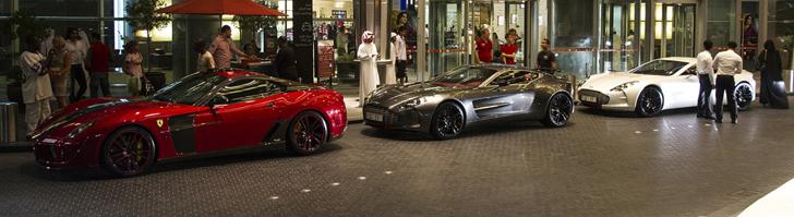 Dubai is shining: Aston Martin One-77 Q Series spotted!
