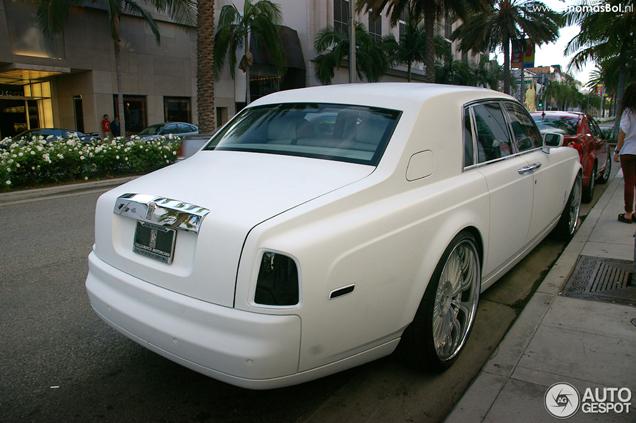 Amerikaans gestyled: Rolls-Royce Phantom in Beverly Hills