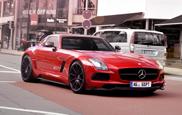 Render: Mercedes-Benz SLS AMG Black Series