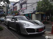 Spotkane w Bangkoku: Porsche Cayman od Techart'a