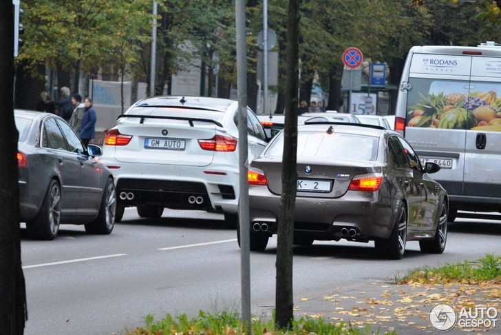 Door Lumma opgedikte BMW X6 M gespot!