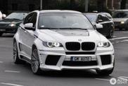 Avvistamento: BMW X6 M elaborata da Lumma