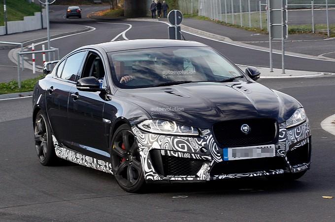 Jaguar XFR-S; vierpersoons XKR-S?