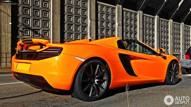 Spot van de dag: McLaren 12C Spider