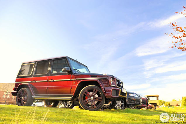 Spot van de dag: Mercedes-Benz G 63 AMG 2012