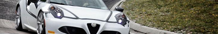 Alfa Romeo 4C bate recorde para carros com menos de 250cv !