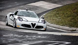 Alfa Romeo 4C zet nieuw ringrecord voor auto's met minder dan 250 pk!