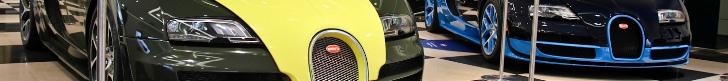Bugatti Veyron 16.4 izložba u Londonu