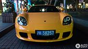 Avistado na China - Porsche Carrera GT Fayence Yellow