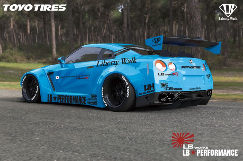 Lb Performance Geeft Nissan Gt R Extra Body