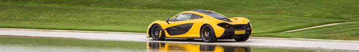 Фантастический McLaren P1: 0-300 км/ч за 16.5 секунд!