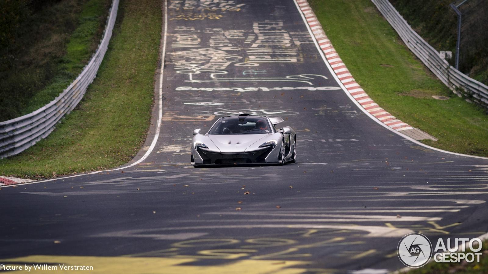 McLaren P1 verslaat ring in 6:47?