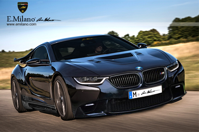 E Milano Does The Bmw I8