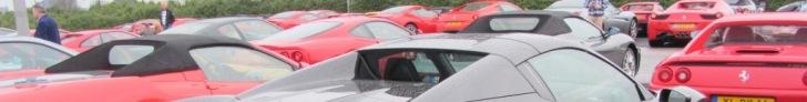 Ferrari Club Meeting zebrało 80 Ferrari w jednym miejscu
