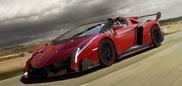 Niesamowity twór: Lamborghini Veneno Roadster!