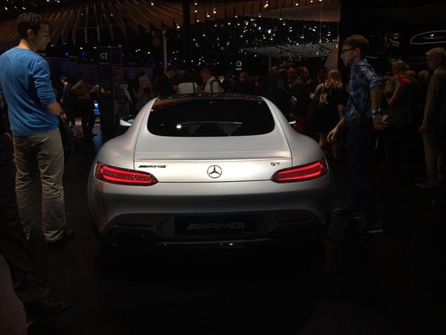 Parijs 2014: Mercedes-AMG GT