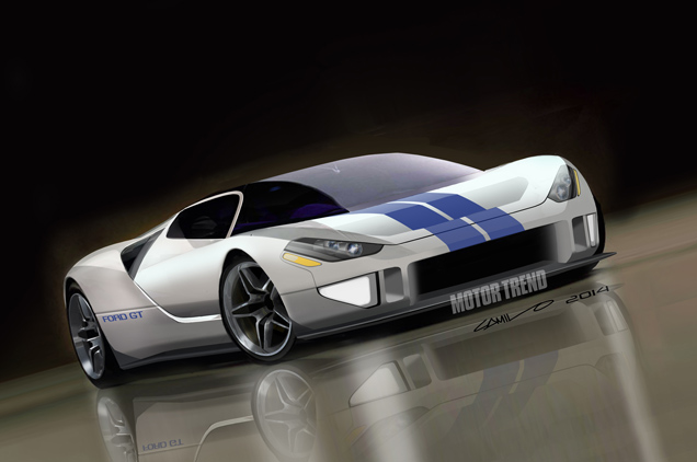 Nieuwe generatie Ford GT op komst