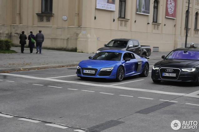 Gelimiteerde Audi R8 LMX gespot