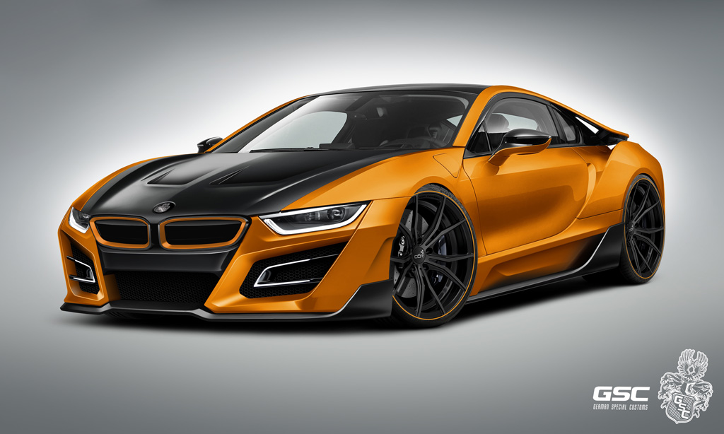 Bmw I8 According To German Special Customs