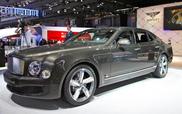 Pariz 2014: Bentley Mulsanne Speed