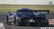 Movie: Pagani Zonda R racing on the track