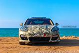 Fotoshoot: Porsche Panamera Turbo S met legerwrap