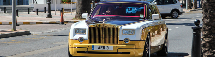 World's most unique Rolls-Royce Phantom is spotted again
