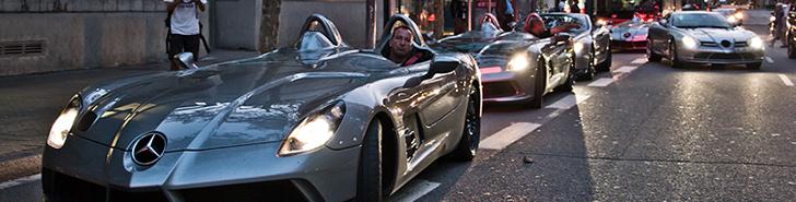 Photo report: SLR McLaren club in Barcelona