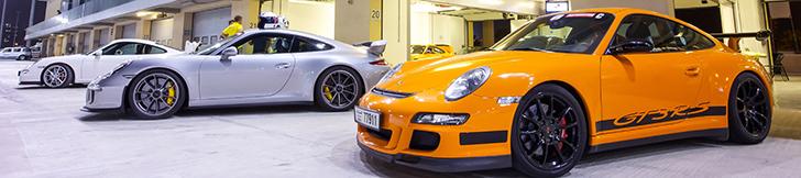 Foto reportaža: Porsche Club UAE na Yas Marina Circuit