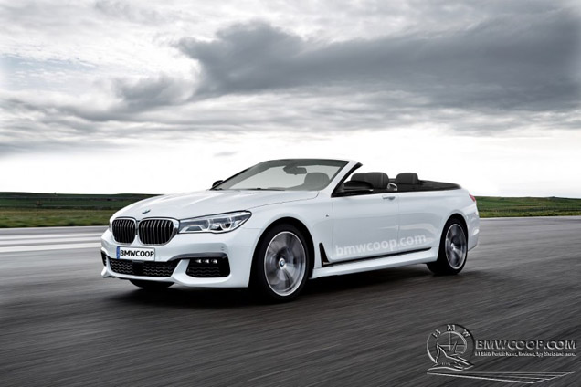 Rendering The BMW 7 Series Convertible