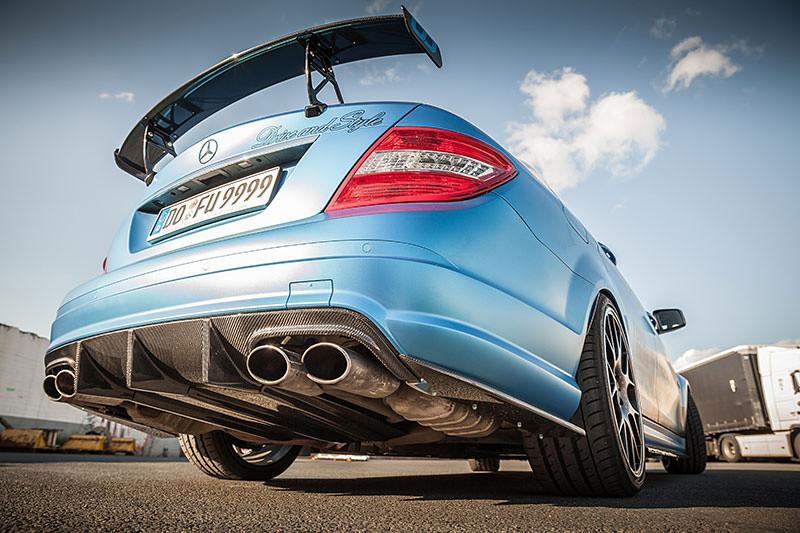 Mercedes Benz C63 Amg Von Carbonfiber Dynamics Getunt