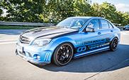 Mercedes-Benz C63 AMG von Carbonfiber Dynamics getunt
