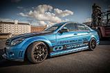 Carbonfiber dynamics tunes Mercedes-Benz C63 AMG
