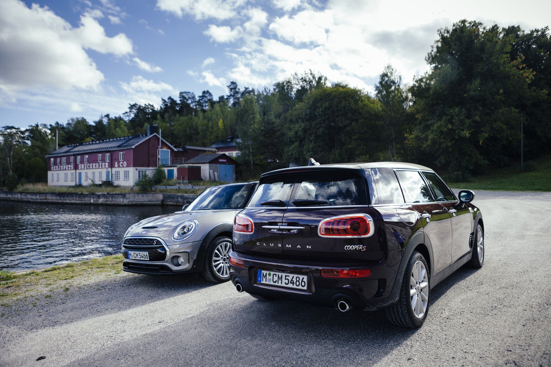 Special Fijn Sturen Met Een Mini Clubman Cooper S Door Zweden