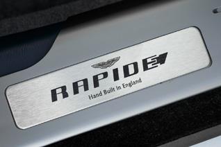 Aston Martin Rapide wil alleen maar stroom