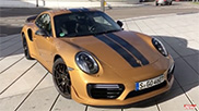Movie: Pushing the Porsche 991 Turbo S Exclusive Series to new limits