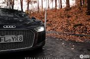 Foto shoot: Audi R8 in wet conditions