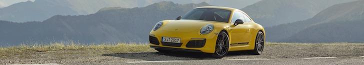 Pure driving experience: Porsche 911 Carrera T