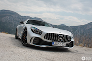 What a beast! AMG GT R in Montenegro!