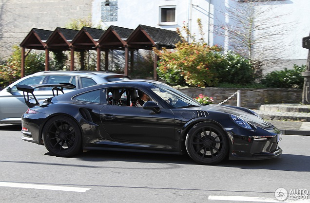 Spyshots: Porsche 991 GT3 RS MkII