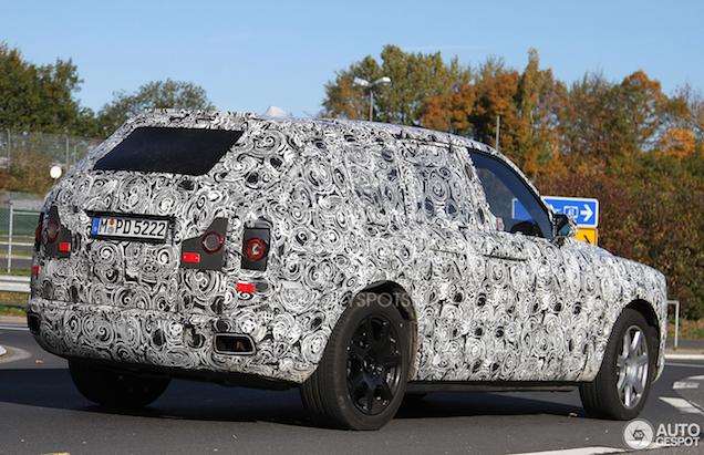 Spyshots: Rolls Royce Cullinan