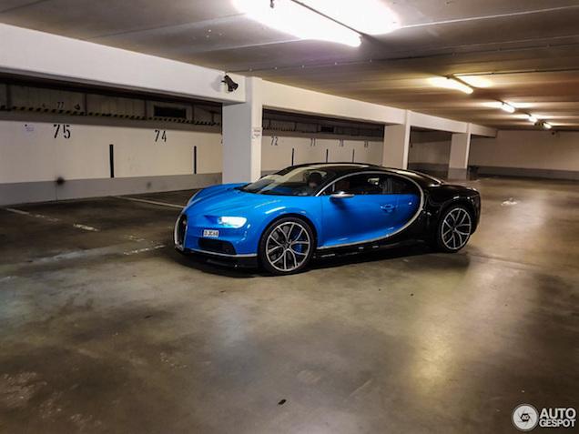 Bugatti Chiron duikt op bij de Nürburgring