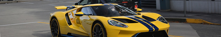 Top spot: Ford GT 2017