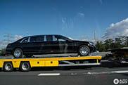 Wil niemand de Mercedes-Maybach S 600 Pullman Guard hebben?
