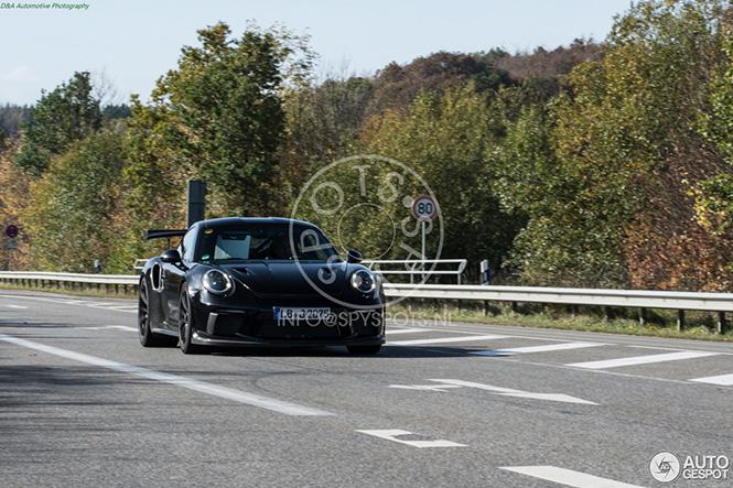 Porsche slijpt de 991 GT3 RS MkII fijn