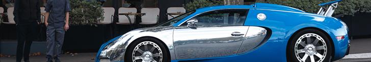 Art in Paris: Bugatti Veyron 16.4 Centenaire