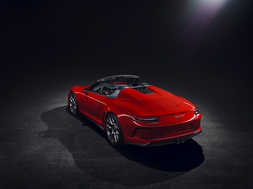 News: Porsche 911 Speedster going in production